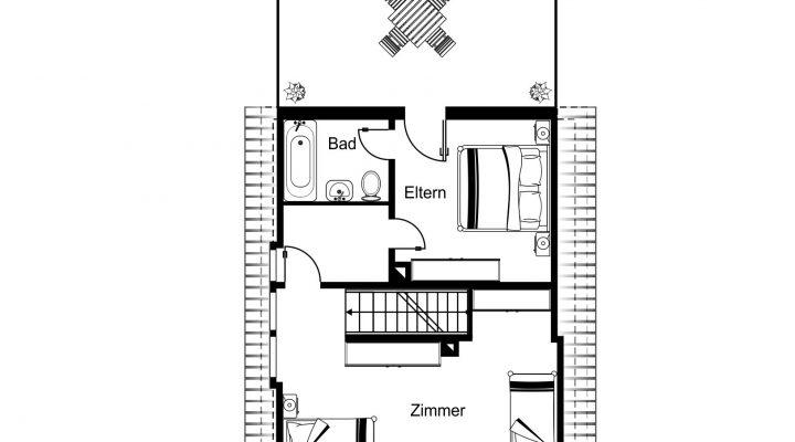 Kleines Haus mit Garten in ruhiger Lage floorplan 3