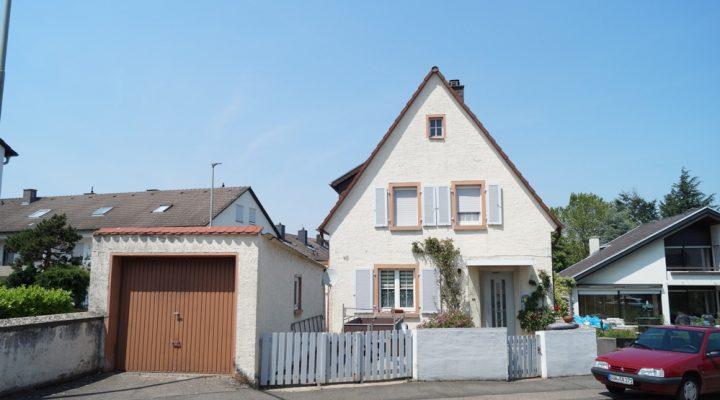 Kleines Haus mit Garten in ruhiger Lage